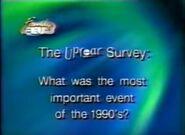 Early Uproar Survey Question