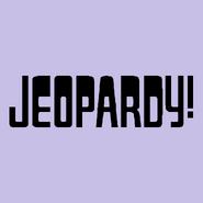 Jeopardy! Logo in Lavender-4