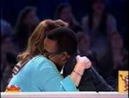 Kathy Hugs Tim