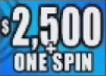 $2,500 + One Spin
