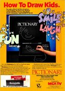 Pictionary 1988 Ad