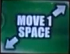 Small Move 1 Space (Down-Left And Up-Right)