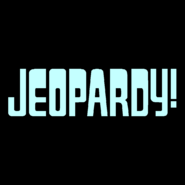 Jeopardy! Logo In Baby Blue