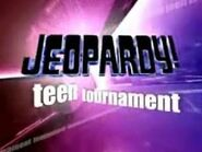 Jeopardy! Season 20 Teen Tournament Title Card
