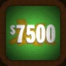 7500 neon green