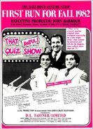 That Quiz Show 1982 ad