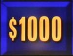 $1000 3