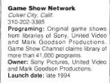 Game Show Network Blurb