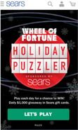 WOF Holiday Puzzler