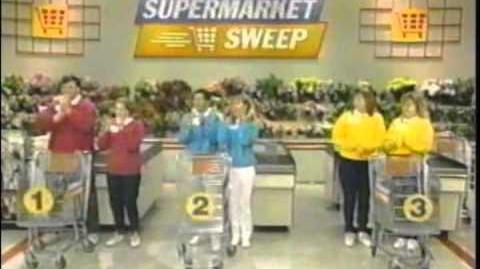 Supermarket Sweep Tresa Dave vs. Christy Debbie vs