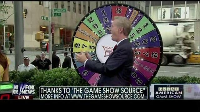 Fox and Friends cast play Wheel Of Fun Game Show