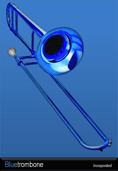 Bluetrombone logo