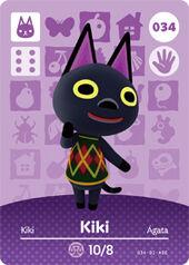 Amiibo AC Kiki card