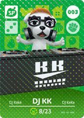 Amiibo AC DJ KK card