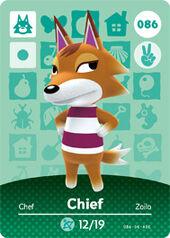 Amiibo AC Chief card