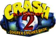 Crash Bandicoot 2 logo