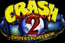 File:Crash Bandicoot 2 logo.png