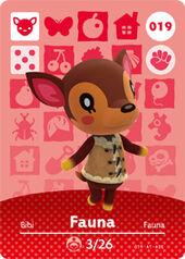 Amiibo AC Fauna card