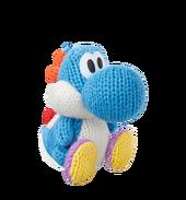 Amiibo YWW Light Blue Yarn Yoshi