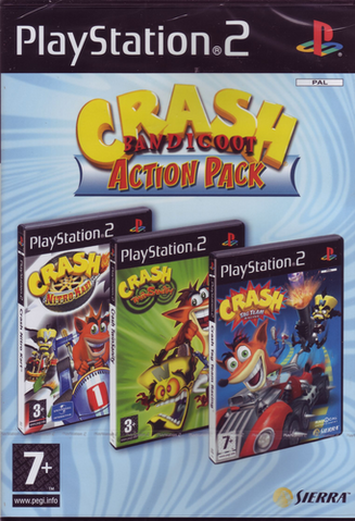 File:Crash Bandicoot Action Pack PS2 PAL.png