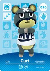 Amiibo AC Curt card