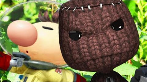 Olimar Vs Sackboy- Gaming All Star Rap Battles EARTH DAY SPECIAL