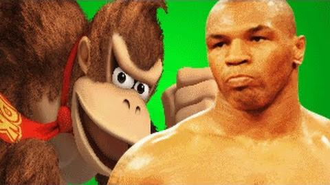 Mike Tyson Vs Donkey Kong REMASTERED- Gaming All Star Rap Battles 1 Year Anniversary