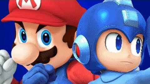 Mario Vs Mega Man REMASTERED- Gaming All Star Rap Battles 1 YEAR ANNIVERSARY-1
