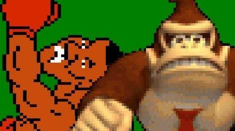 Mike Tyson vs Donkey Kong