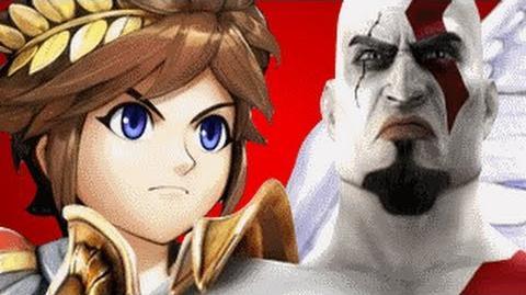 Pit Vs Kratos REMASTERED- Gaming All Star Rap Battles 1 YEAR ANNIVERSARY-0