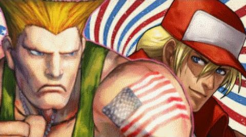 (4TH OF JULY) Guile Vs Terry Bogard- Gaming All Star Rap Battles-0