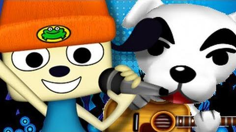 PaRappa the Rapper Vs K.K. Slider- Gaming All Star Rap Battles Season 2