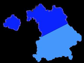 Map of Bavaria