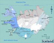 Map - Iceland