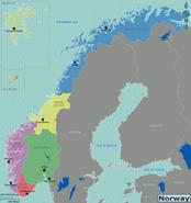 Map - Norway
