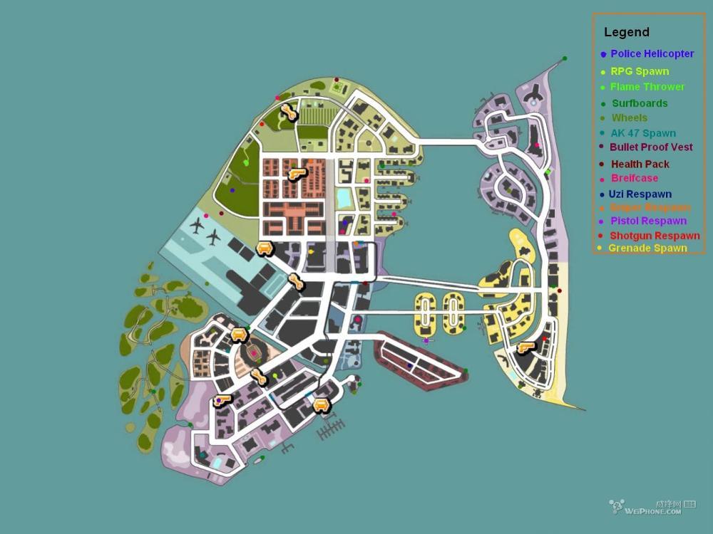 archivo:mapa de miami | gangstar wiki | fandom powered