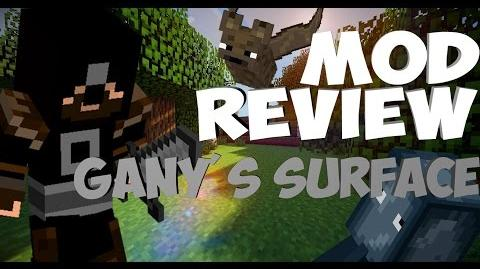 Minecraft Mod Review Gany's Surface - Part 1 - SO USEFUL!