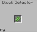 Block Detector