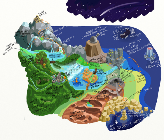File:World map route & gyms.png