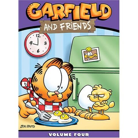 File:Garfield and Friends, Volume Four .jpg