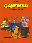 Garfield's band feat. odie squeak arlene another mouse