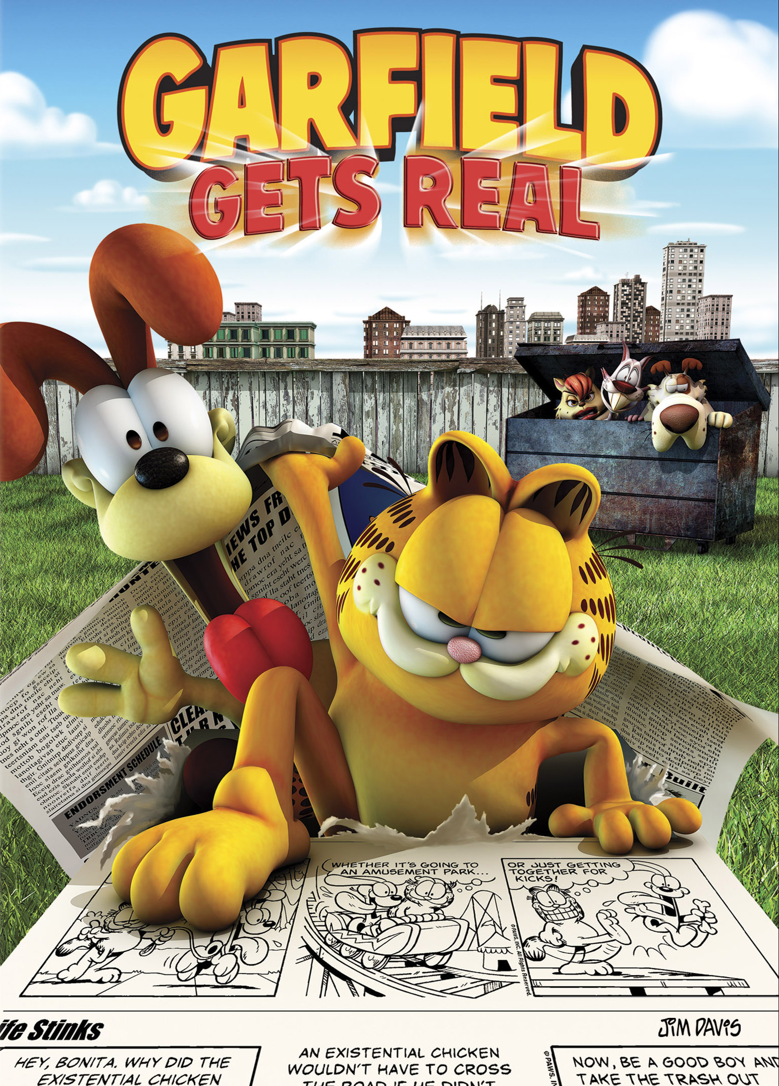 Archivo:Garfield Gets Real (2007) .jpg