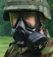 Serbian M3 Gas Mask (U.S. M40 Copy)