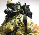 "US M45 ""Land Warrior"" Protective Mask"