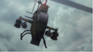 AH-1S Cobra from Ichiyaga during the Ginza attack