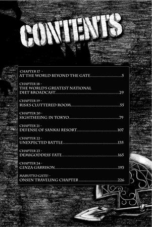 Volume 3 Contents