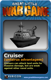 GLWG trading card cruiser
