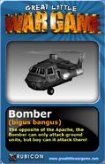 GLWG trading card bomber