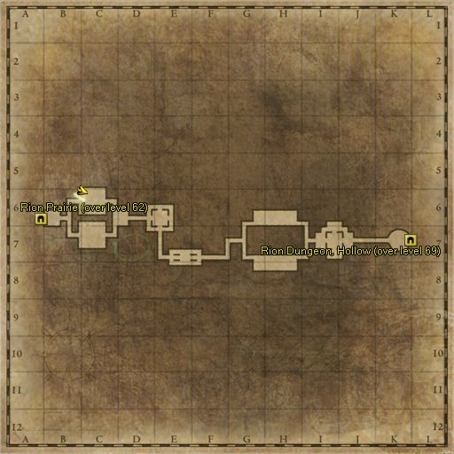 ZoneMap - Rion Dungeon Corridor