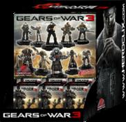 Gears of War 3 toys